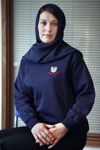 Специальная школьная форма для мусульман. Фото: qianlong.com