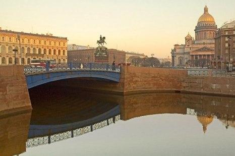 Ну а если рассматривать все мосты, то окажется, что самый широкий мост расположен… в Санкт-Петербурге! Фото: bigpicture.ru