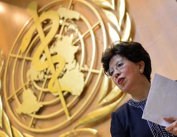Генеральный директор ВОЗ Маргрет Чен в 23 мая Женеве. Фото: FABRICE COFFRINI/AFP/Getty Images