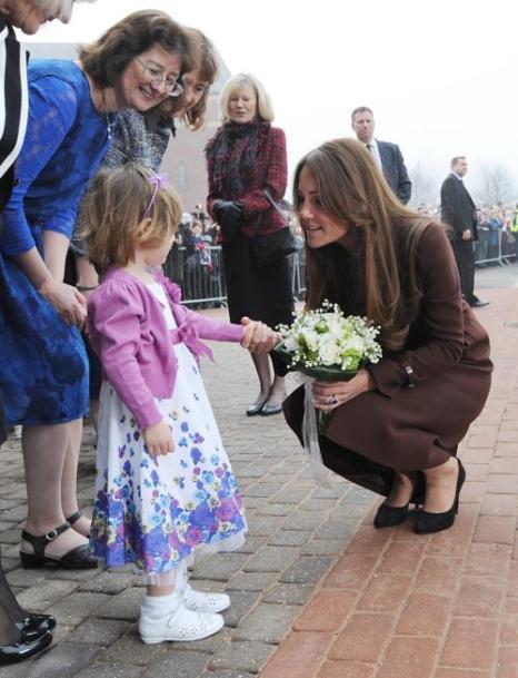 Герцогиня Кембриджская Кетрин посетила Гримсби. Фото: Bruce Adams - WPA Pool/Getty Images