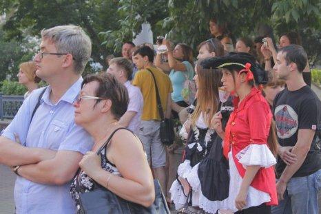 Первый фестиваль уличных театров в Нижнем Новгороде. Фото: Николай Карпов/Великая Эпоха (The Epoch Times)