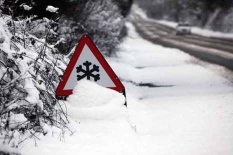 Шотландия во власти холода. Фото: Jeff J Mitchell/Getty Images