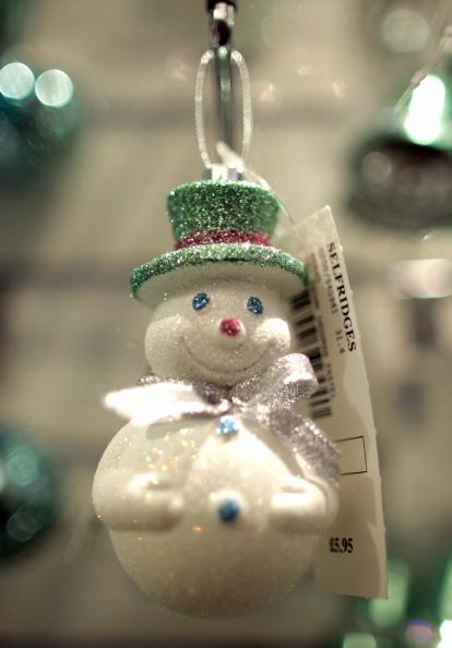 Новогодние игрушки. Фото: Getty Images