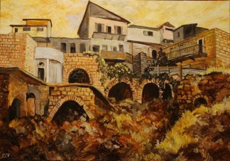 Библейская страна сегодня на холстах Шмуэля Мушника. Фото предоставлено художником