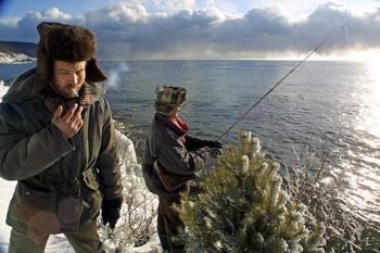 Байкальская рыбалка состоится в Бурятии. Фото: ALEXANDER NEMENOV/AFP/Getty Images