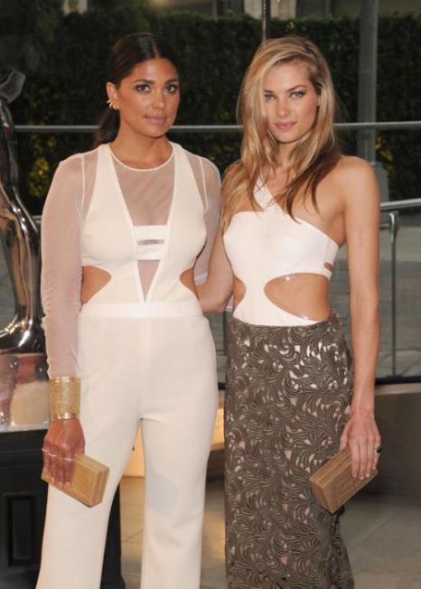 Рейчел Рой и Джессика Харт на вручении Премии моды CFDA Fashion Awards 2013 в Нью-Йорке. Фото: Jamie McCarthy/Getty Images