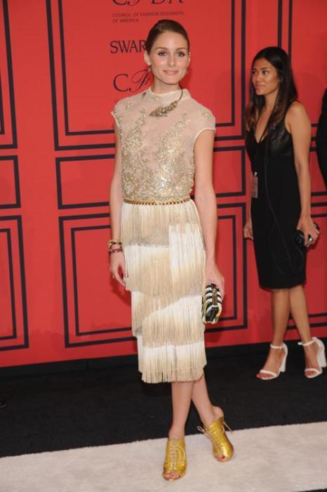 Оливия Палермо на вручении Премии моды CFDA Fashion Awards 2013 в Нью-Йорке. Фото: Bryan Bedder/Getty Images for Swarovski