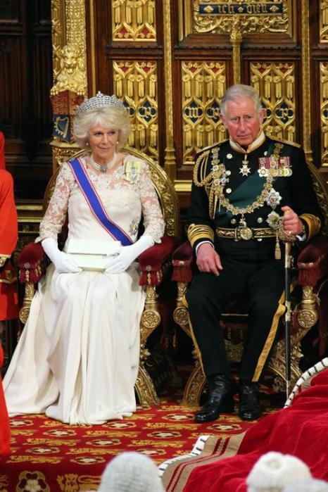 Камилла, герцогиня Корнуолла и принц Чарльз, принц Уэльский на Церемонии открытия парламента. Фото: Jon Bond - WPA Pool/Getty Images