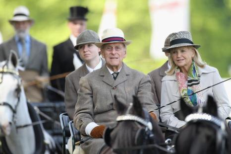 Принц Филипп 13 мая 2012 года. Фото: Chris Jackson/Getty Images