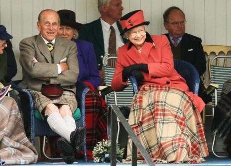 Принц Филипп и Елизавета II 6 сентября 2008 года. Фото: Chris Jackson/Getty Images