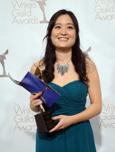 Писатель Элайн Ко. Победитель в номинации «Комедия», на вручении премии Гильдии писателей США. Фото: Jason Kempin/Getty Images for WGAw