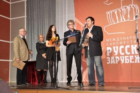 На церемонии вручения наград на VII международном кинофестивале «Русское зарубежье». Фото: Ульяна Ким/Великая Эпоха (The Epoch Times)