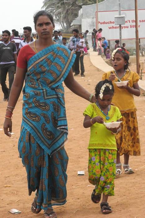 Индийские дочки-матери. Фото: Татьяна Виноградова/Великая Эпоха (The Epoch Times)