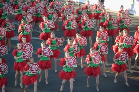 Парад роз в Калифорнии 1 января 2012 года. Фото: Alberto E. Rodriguez/Getty Images