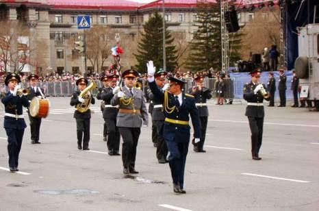 Парад 9 мая в Красноярске. Фото:Александр Куликовский