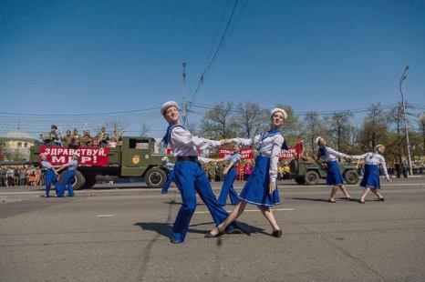 Празднование Дня Победы в г.Рязань. Фото: Сергей Лучезарный/Великая Эпоха (The Epoch Times)