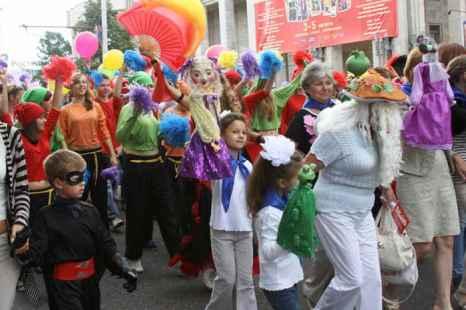 Парад в г. Кострома. Фото: Ульяна Ким/Великая Эпоха (The Epoch Times)