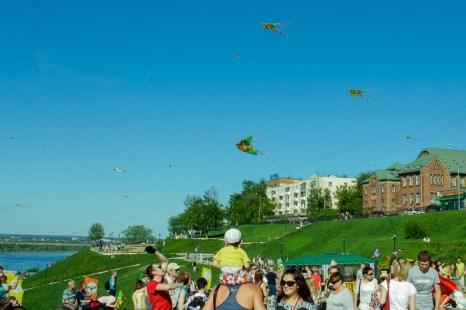 Фестиваль воздушных змеев в Нижнем Новгороде. Фото: Юлия Карпова/Великая Эпоха (The Epoch Times)