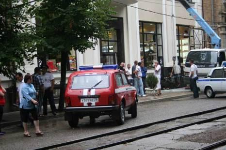 Взрыв прогремел в самом центре города-курорта Пятигорска. В результате теракта пострадали 23 человека. Фото: Ксения Величко/Великая Эпоха (The Epoch Times)