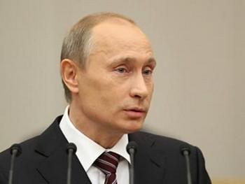 Премьер-министр России Владимир Путин. Фото с официального сайта правительства РФ