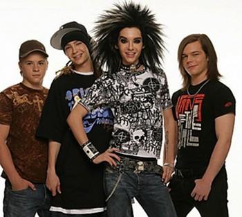 Группа Tokio Hotel. Фото с vipparter.ru