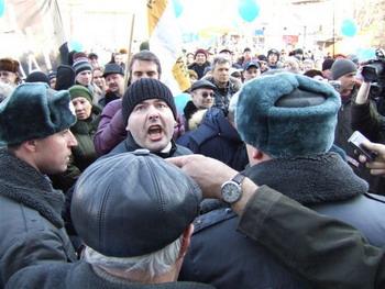 Митинг в защиту Байкала в Иркутске. Фото: Григорий КРАСОВСКИЙ