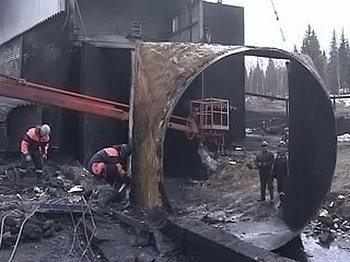 На шахте «Распадской» число жертв увеличилось до 31 человек. Фото с сайта mchs.gov.ru