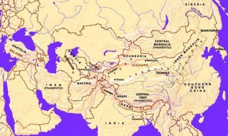 Юг Центральной Азии, конец IX века.  Фото:   nnre.ru