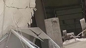Обрушение дома на Лиговском проспекте. Фото с сайта krsk.sibnovosti.ru