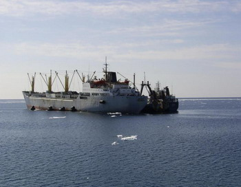 Поиск судна «Аметист» продолжится силами авиации и флота.  Фото с сайта korabli.qdg.ru