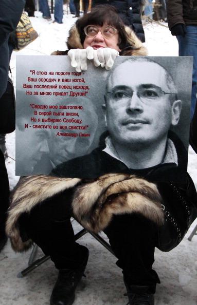 Хамовнический суд Москвы огласил приговор Михаилу Ходорковскому по второму делу ЮКОСа.  Фото: ANDREY SMIRNOV/AFP/Getty Images