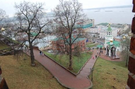 Вид на город со стен Кремля. Фото: Николай Карпов/Великая Эпоха (The Epoch Times)