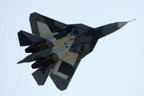 Истребитель Т-50. Фото: DMITRY KOSTYUKOV/AFP/GettyImages