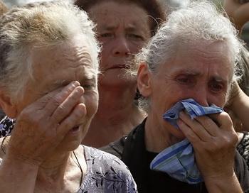 На Транскавказской магистрали произошло трагическое ДТП. Фото: LOUISA GOULIAMAKI/AFP/Getty Images