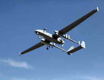 Беспилотный летательный аппарат в небе. Фото: Israel Aerospace Industries via Getty Images