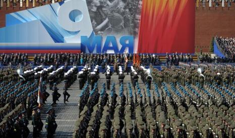 Парад Победы в Москве прошёл на «отлично». Фото: ALEXEY DRUZHININ/AFP/Getty Images