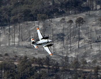 Разведывательный самолёт. Фото: Erich Schlegel/Getty Images