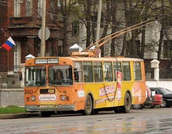 Троллейбус в Иваново. Фото: transit.parovoz.com