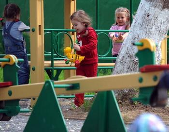 Работа детского сада. Фото РИА Новости
