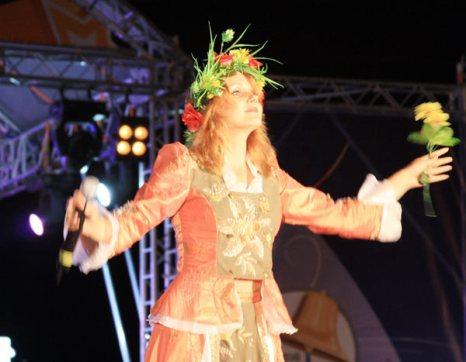 Юлия Федосова на фестивале Морской узел-2011. Фото: Ульяна Ким/Великая Эпоха (The Epoch Times)
