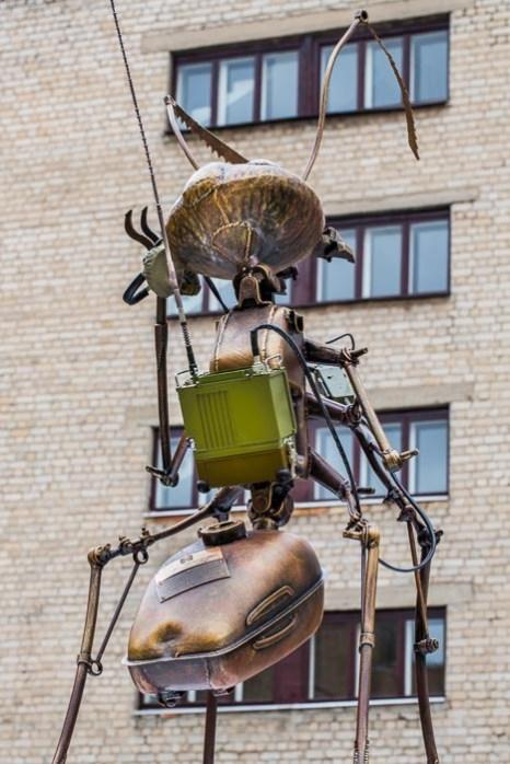 Памятник муравью открылся в Рязани. Фото: Сергей Лучезарный/Великая Эпоха (The Epoch Times)