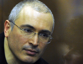 Михаил Ходорковский. Фото: DMITRY KOSTYUKOV/AFP/Getty Images
