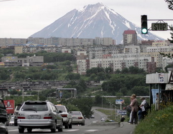 Петропавловск-Камчатский. Фото: TATYANA MAKEYEVA/AFP/Getty Images