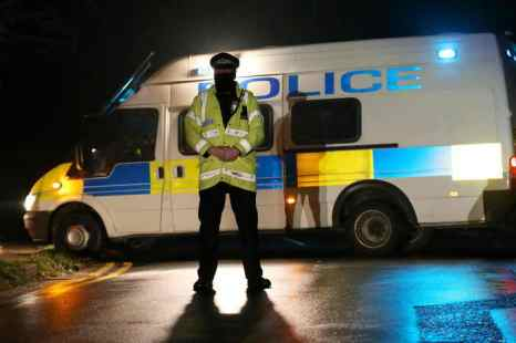 Великобритания. Полиция.Фото: Peter Macdiarmid/Getty Images