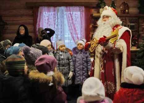 Дед мороз. Фото: NATALIA KOLESNIKOVA/AFP/Getty Images