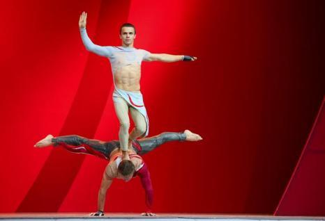 Концерт в Гостином дворе, состоявшийся 6 августа 2013 года, открыл 49-й конгресс Международной федерации легкоатлетических ассоциаций (ИААФ) в Москве. Фото: Julian Finney/Getty Images