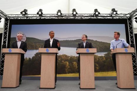 Россия стала председателем «большой восьмёрки». Фото: Andrew Winning - WPA Pool/Getty Images
