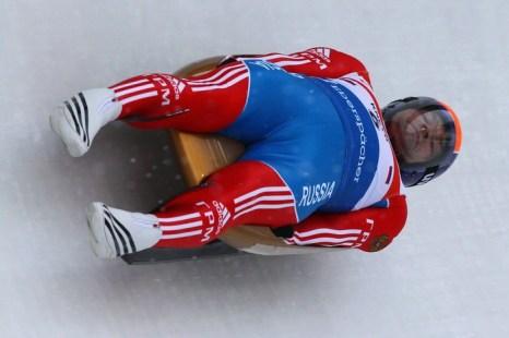 Виктор Кнейб на чемпионате мира в Альтенберге, Германия, 9 февраля 2012 год. Фото: Martin Rose/Bongarts/Getty Images