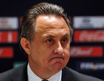 Министр Спорта РФ Виталий Мутко. Фото: YURI KADOBNOV/AFP/Getty Images