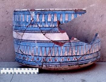 Раскрашенная синим керамика была во времена Аменхотепа III и Рамзеса II в Египте в моде. Фото с сайта epochtimes.de